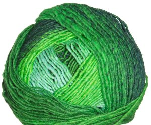 Noro Karuta Yarn - 04 Light Green, Lime, Dark Green