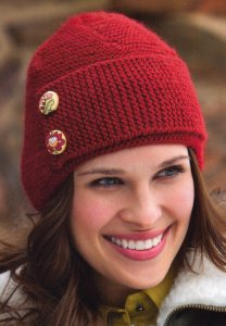 Brown Sheep Lamb's Pride Worsted Flyer Cap Kit - Hats and Gloves