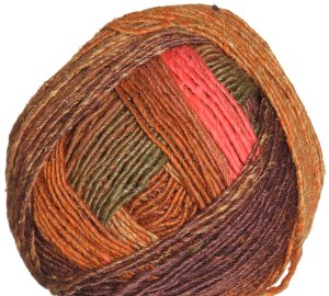Noro Karuta Yarn - 07 Orange, Brown, Olive