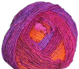 Noro Karuta Yarn - 10 Hot Pink, Purple, Orange (Discontinued)