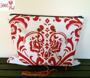 Top Shelf Totes Yarn Pop - Double - Bold Red Fleur (Stitch Red)