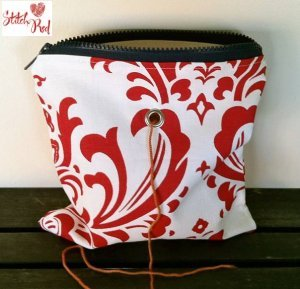 Top Shelf Totes Yarn Pop - Single - Bold Red Fleur (Stitch Red)