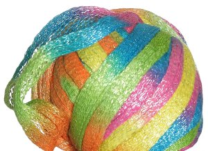 Katia Bossa Nova Yarn - 74 Fuchsia, Yellow, Aqua, Orange