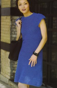 Tahki Cotton Classic Lite Istanbul Dress Kit - Crochet for Adults