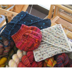 Knitting at Knoon Patterns - Celebration Bags