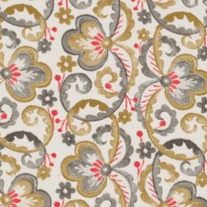 Victoria and Albert Garthwaite Fabric - Scroll - Neutral