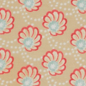 Victoria and Albert Garthwaite Fabric - Scallop - Neutral