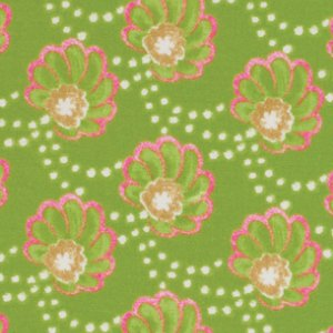Victoria and Albert Garthwaite Fabric - Scallop - Pink