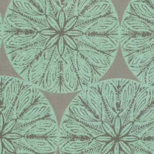 Victoria and Albert Garthwaite Fabric - Medallion - Neutral