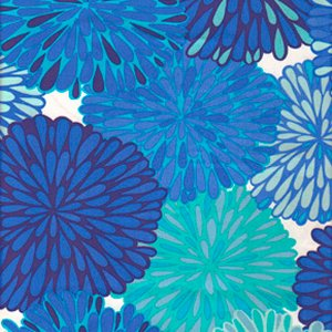 Valori Wells Wrenly Home Decor Fabric - Bloom - Cobalt