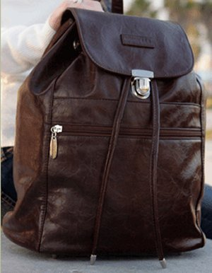 Namaste Boardwalk Backpack - Espresso (Discontinued)