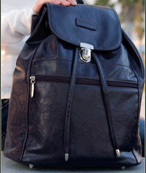 Namaste Boardwalk Backpack - Eggplant