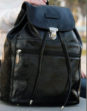 Namaste Boardwalk Backpack - Black