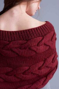 Berroco Vintage Chunky Shaped Capelet Kit - Scarf and Shawls