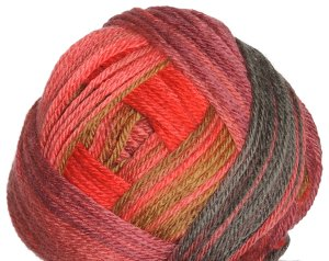 Classic Elite Liberty Wool Print Yarn - 7863 Brick Red (Discontinued)
