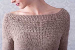 Berroco Ultra Alpaca Basket Yoke Pullover Kit - Women's Pullovers