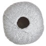 Nazli Gelin Garden Metallic Yarn - 702-01 White, Silver Metallic