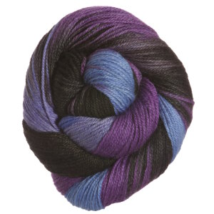 Lorna's Laces Sportmate Yarn - Blueberry Snowcone