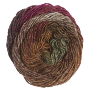 Noro Silk Garden Yarn - 364 Brown, Wine, Cream (Discontinued)