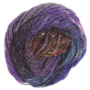 Noro Silk Garden Yarn - 366 Violet, Lime, Sky, Pink (Discontinued)