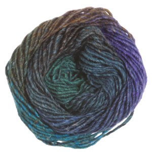 Noro Silk Garden Yarn - 369 Blue, Green, Black, Brown (Discontinued)