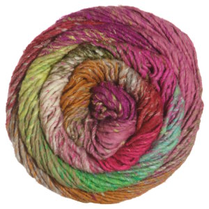 Noro Taiyo Yarn - 28 Pink, Bright Green, Orange (Discontinued)