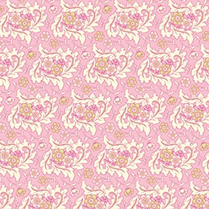 Heather Bailey Freshcut Fabric - Finery - Pinkypurple