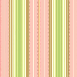 Heather Bailey Freshcut Fabric - Lounge Stripe - Peachy