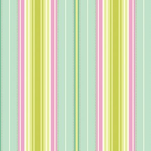 Heather Bailey Freshcut Fabric - Lounge Stripe - Turquoise