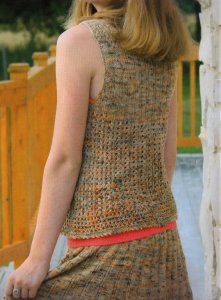 Koigu KPPPM Pixie Dust Skirt and Top Kit - Dresses and Skirts