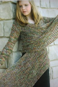 Koigu KPPPM Starfish Cardigan Kit - Women's Cardigans