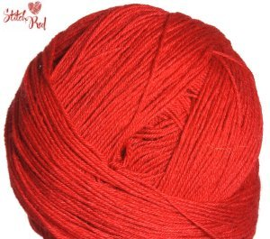 Schoppel Wolle Admiral Yarn - Johnny's Red (Stitch Red)