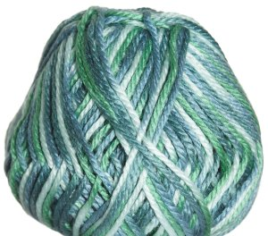 Cascade Pacific Chunky Multis Yarn - 611 Green Seas (Discontinued)