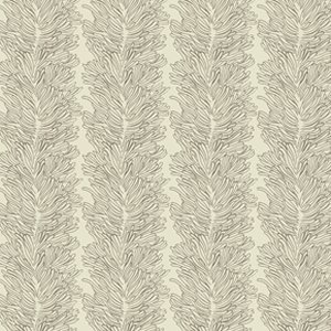 Parson Gray Curious Nature Fabric - Coral Reef - Bone