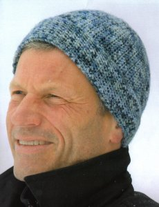 Koigu KPPPM Kanuck Hat Kit - Crochet for Adults