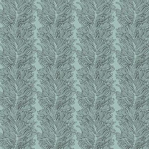 Parson Gray Curious Nature Fabric - Coral Reef - Darkwater
