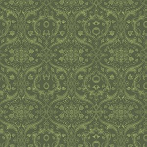 Parson Gray Curious Nature Fabric - Dimitri VN - Pine