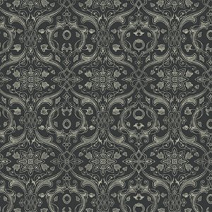 Parson Gray Curious Nature Fabric - Dimitri VN - Royalty