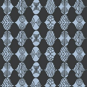 Parson Gray Curious Nature Fabric - Empire Mrk - Night