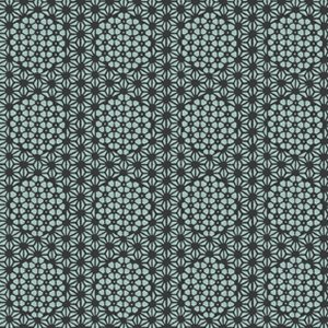 Parson Gray Curious Nature Fabric - Starcomb - Darkwater
