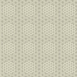 Parson Gray Curious Nature Fabric - Starcomb - Silver