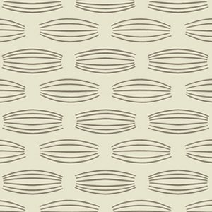 Parson Gray Curious Nature Fabric - Cocoons - Bone