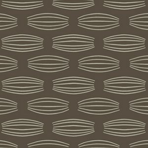 Parson Gray Curious Nature Fabric - Cocoons - Smoke
