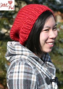 Be Sweet Keystone Hat Kit - Lipstick (Stitch Red)