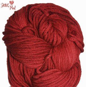 Swans Island Natural Colors Bulky Yarn - Winterberry (Stitch Red)