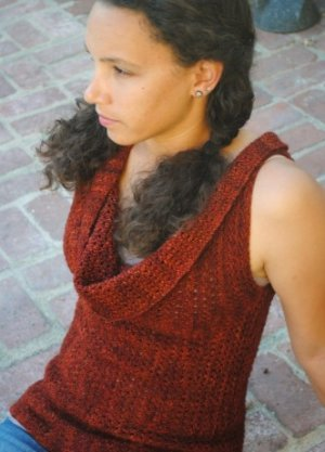 Grace Akhrem Patterns - Olga's Vest Pattern