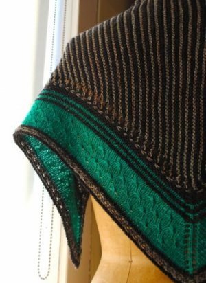 Grace Akhrem Patterns - Olana Shawl Pattern