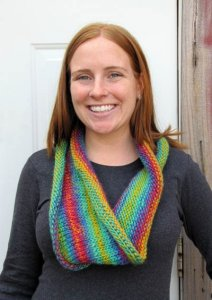 Wisdom Yarns Poems Chunky Cowl Kit - Scarf and Shawls