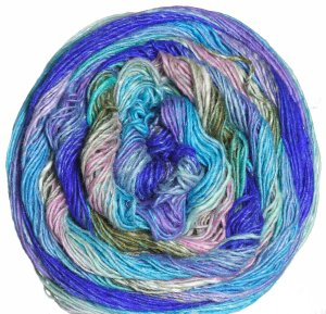 Noro Taiyo Sock Yarn - 17 Royal, Turquoise, Pink (Discontinued)
