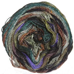 Noro Taiyo Sock Yarn - 22 Black, Brown, Olive
